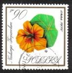 Stamps Poland -  Flores en Colores Naturales