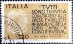 Sellos de Europa - Italia -  Intercambio 0,20 usd 120 liras 1977