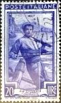 Sellos del Mundo : Europa : Italia : Intercambio 0,20 usd 20 liras 1950