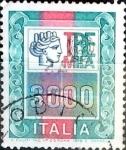 Sellos de Europa - Italia -  Intercambio 0,20 usd 3000 liras 1979