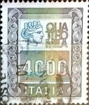 Sellos de Europa - Italia -  Intercambio 0,20 usd 4000 liras 1979