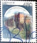 Stamps Italy -  Intercambio 0,20 usd 450 liras 1980