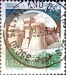 Stamps : Europe : Italy :  Intercambio 0,75 usd 750 liras 1990
