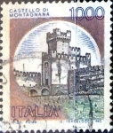 Stamps : Europe : Italy :  Intercambio 0,20 usd 1000 liras 1980