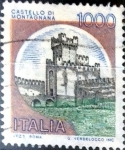 Stamps : Europe : Italy :  Intercambio 0,20 usd 1000 liras 1980