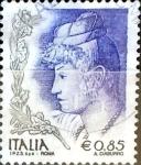 Sellos de Europa - Italia -  Intercambio 0,90 usd 85 cent. 2004
