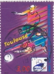 Stamps France -  futbol-Toulouse