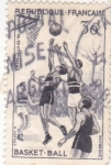 Stamps France -  basquet-ball