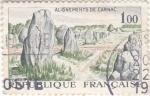 Sellos de Europa - Francia -  menhires en Carnac