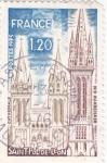 Stamps France -  catedral Saint-Pol de León