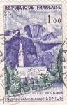 Stamps France -  iglesia de Cilaus- Reunión