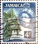 Stamps : America : Jamaica :  Intercambio 0,20 usd 4 p. 1956