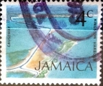 Sellos de America - Jamaica -  Intercambio crxf 0,20 usd 4 cent. 1972