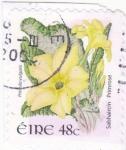 Stamps Ireland -  flor- primula vulgaris