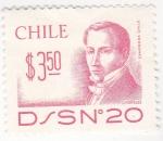 Sellos de America - Chile -  Diego Portales-político