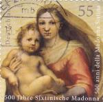 Sellos de Europa - Alemania -  la virgen y el Niño