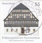 Stamps Germany -  casa típica
