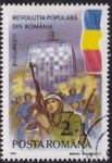 Stamps Romania -  Primer anivº del Levantamiento popular en Rumania