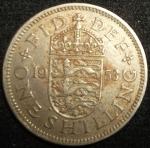 monedas de Europa - Reino Unido -  1953 (Reverso)