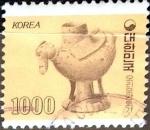 Stamps : Asia : South_Korea :  Intercambio 0,80 usd 1000 w. 1983