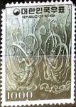 Stamps : Asia : South_Korea :  Intercambio 1,00 usd 1000 w. 1978
