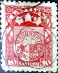 Sellos del Mundo : Europa : Letonia : Intercambio 0,20 usd 10 santimu 1923