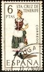 Stamps Spain -  Trajes tipicos de España.