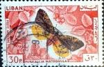 Stamps : Asia : Lebanon :  Intercambio 0,20 usd 30 p. 1965