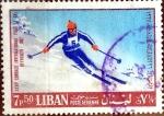 Sellos de Asia - Líbano -  Intercambio crxf 0,20 usd 7,5 p. 1968