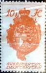 Stamps : Europe : Liechtenstein :  Intercambio jxa 0,25 usd 10 h.1920