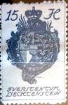 Stamps : Europe : Liechtenstein :  Intercambio cxrf 0,25 usd 15 h.1920