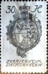 Stamps : Europe : Liechtenstein :  Intercambio jxa 0,25 usd 30 h.1920