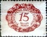 Stamps : Europe : Liechtenstein :  Intercambio cxrf 0,20 usd 15 h.1920
