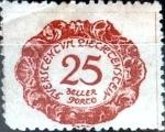 Stamps : Europe : Liechtenstein :  Intercambio cxrf 0,20 usd 25 h.1920
