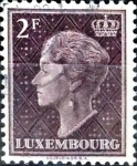 Stamps : Europe : Luxembourg :  Intercambio 0,20 usd 2 francos 1948