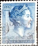 Stamps : Europe : Luxembourg :  Intercambio 0,20 usd 2 francos 1961
