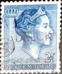 Sellos del Mundo : Europa : Luxemburgo : Intercambio 0,20 usd 2 francos 1961
