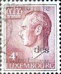 Sellos del Mundo : Europa : Luxemburgo : Intercambio 0,20 usd 4 francos 1971