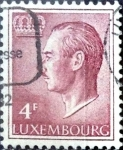 Stamps : Europe : Luxembourg :  Intercambio 0,20 usd 4 francos 1971