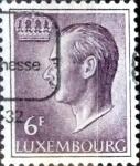 Sellos del Mundo : Europa : Luxemburgo : Intercambio 0,20 usd 6 francos 1965