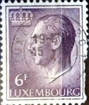 Stamps : Europe : Luxembourg :  Intercambio 0,20 usd 6 francos 1965