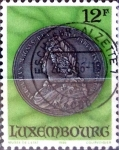 Stamps : Europe : Luxembourg :  Intercambio crxf 0,45 usd 12 francos 1986