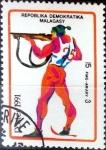 Sellos del Mundo : Africa : Madagascar :  Intercambio nf5xb 0,20 usd 15 francos 1991