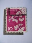 Stamps : Asia : Japan :  Árbol de Flor del Cerezo.