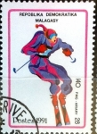 Stamps : Africa : Madagascar :  Intercambio 0,20 usd 140 francos 1991
