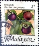 Stamps : Asia : Malaysia :  Intercambio 0,35 usd 1 dolar 1986