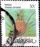 Sellos de Asia - Malasia -  Intercambio 0,20 usd 50 cent. 1986
