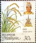 Stamps : Asia : Malaysia :  Intercambio 0,30 usd 30 cent. 1986