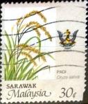 Stamps : Asia : Malaysia :  Intercambio cxrf2 0,25 usd 30 cent. 1986