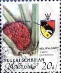 Sellos de Asia - Malasia -  Intercambio cxrf2 0,35 usd 20 cent. 1986